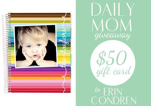 Day 10: Erin Condren gift card 1 Daily Mom Parents Portal