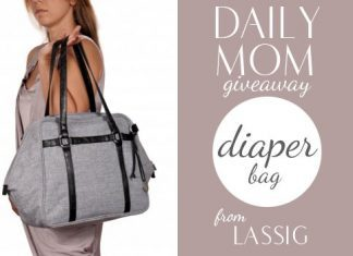Day 24: Lassig Diaper Bag