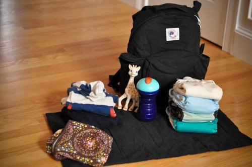Non-Toxic Diaper Bags: Ergo Organic Travel Pack 4 Daily Mom Parents Portal