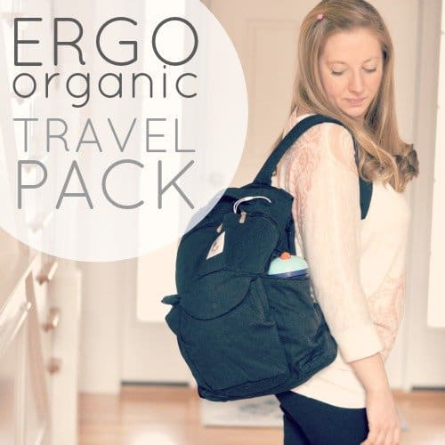 Non-Toxic Diaper Bags: Ergo Organic Travel Pack 1 Daily Mom Parents Portal