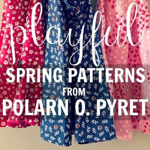 Playful Spring Patterns From Polarn O. Pyret
