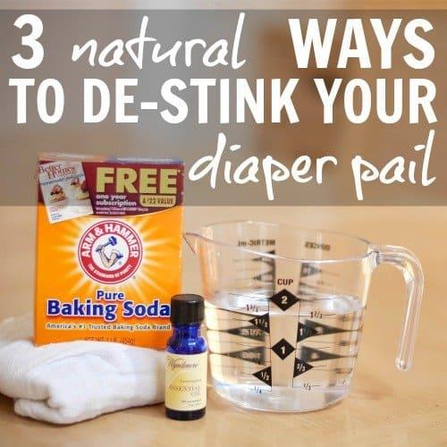3 Natural Ways To De-Stink Your Diaper Pail 1 Daily Mom Parents Portal