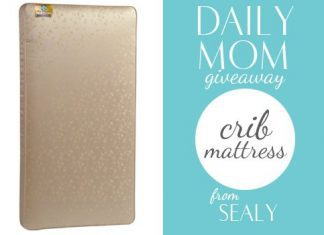 Day 39: Sealy Crib Mattress