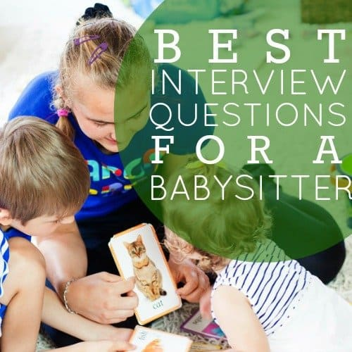 Best Interview Questions for a Babysitter 1 Daily Mom Parents Portal