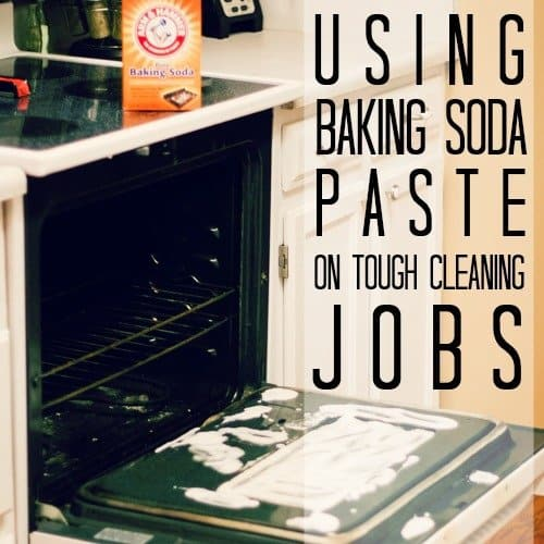 Using Baking Soda Paste On Tough Cleaning Jobs 1 Daily Mom Parents Portal