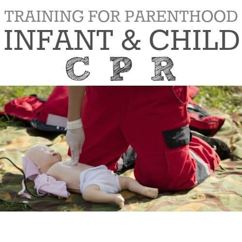 Training for Parenthood: Infant and Child CPR 1 Daily Mom Parents Portal
