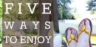 5 Ways To Enjoy A Staycation 2