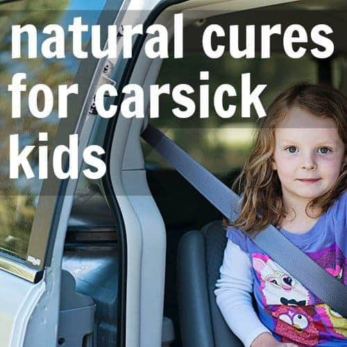 Natural Cures For Carsick Kids Daily Mom