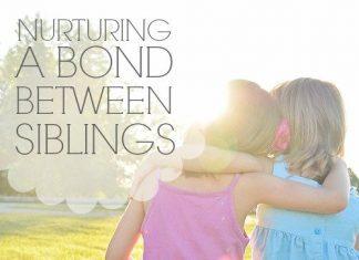 Nurturing A Bond Between Siblings