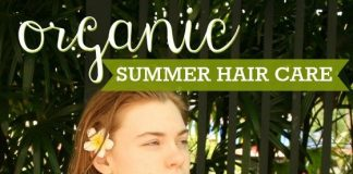 Organic Summer Hair Care