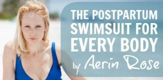 The Postpartum Swimsuit For Every Body By Aerin Rose