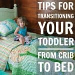Tips For Transitioning From Crib To Bed 1
