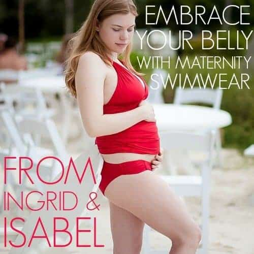 Embrace Your Belly With Maternity Swimwear From Ingrid And Isabel