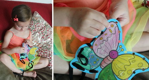 DIY Kids Art Lacing Cards 4 Daily Mom Parents Portal