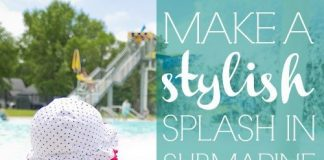 Make A Stylish Splash In Submarine Swimwear