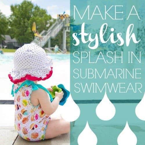 Make A Stylish Splash In Submarine Swimwear