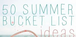 50 Summer Bucket List Ideas 1