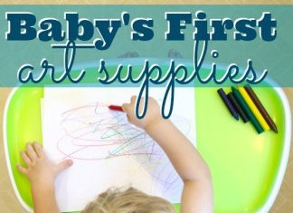 Babys First Art Supplies