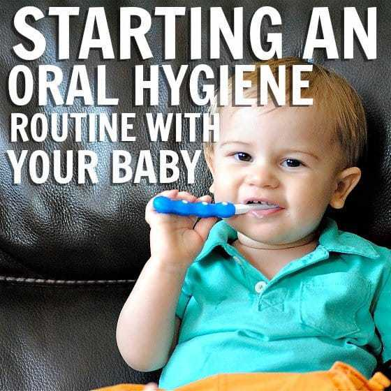 Starting A Great Oral Hygiene Routine With Your Baby