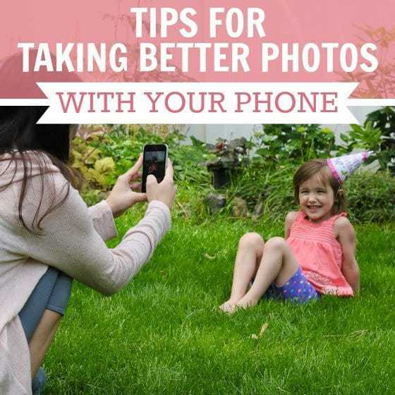 Tips To Taking Better Photos With Your Phone