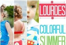 Lourdes Colorful Summer Style
