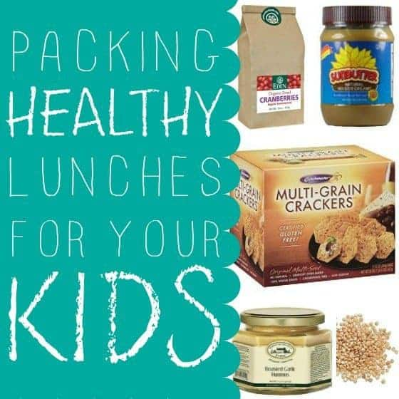Packing Healthy Lunches For Your Kids