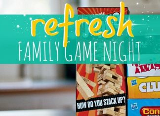 Refresh Family Game Night