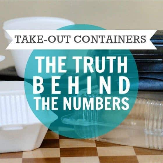 Take Out Containers The Truth Behind The Numbers