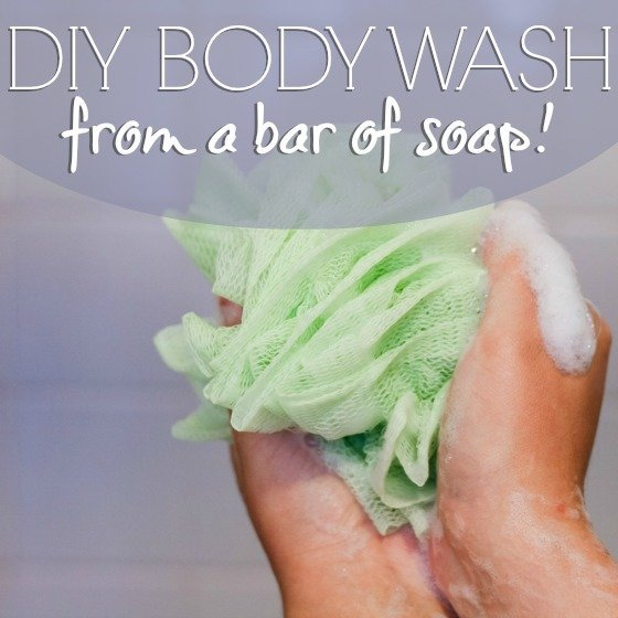 DIY Body Wash From a Bar of Soap 1 Daily Mom Parents Portal