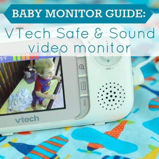 Baby Monitor Guide Vtech Safe And Sound