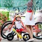 Family Biking In Style