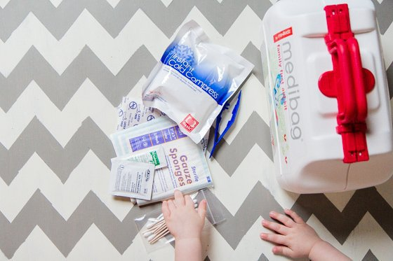 Mommy's First Aid Kit Essentials