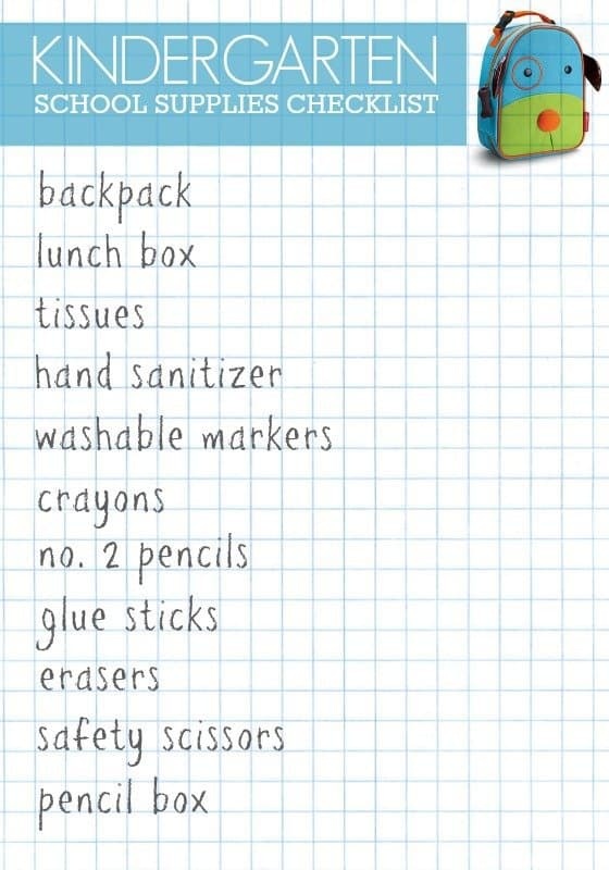 13251ffb246c Back to School Shopping List 2 Daily Mom Parents Portal
