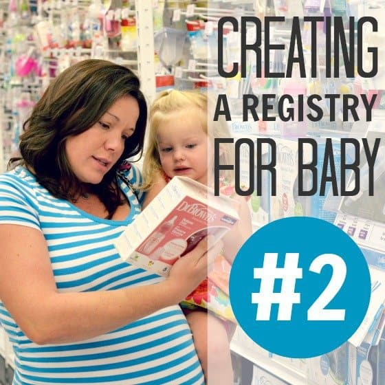 Creating a Registry for Baby #2 1 Daily Mom Parents Portal