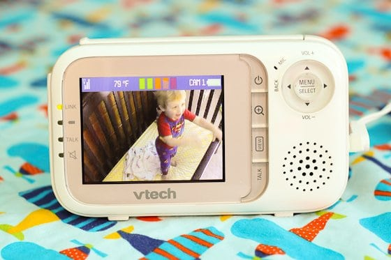 Baby Monitor Guide: VTech Safe & Sound Video Monitor 5 Daily Mom Parents Portal