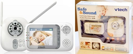 Baby Monitor Guide: VTech Safe & Sound Video Monitor 2 Daily Mom Parents Portal