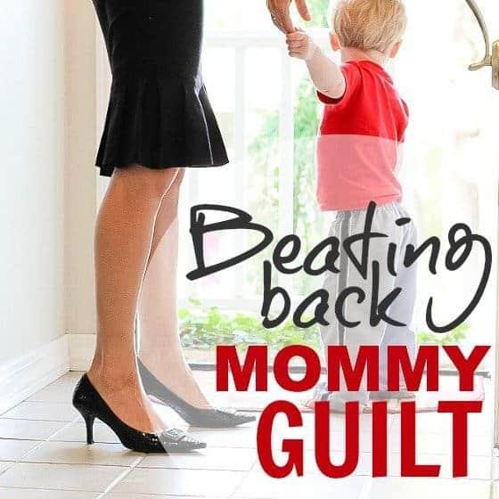 Beating Back Mommy Guilt