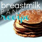 Breastmilk Pancake Recipe