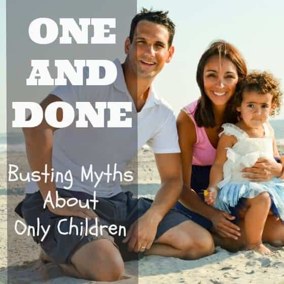 One & Done: Busting Myths About Only Children