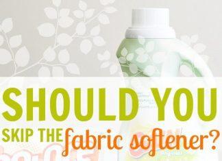 Should You Skip The Fabric Softener