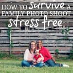 How To Survive A Family Photo Shoot Stress Freee