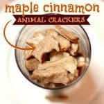 Maple Cinnamon Animal Crackers