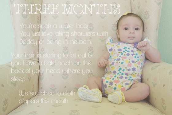 Baby's 1st Year: Creative Monthly Baby Photo Ideas 4 Daily Mom Parents Portal