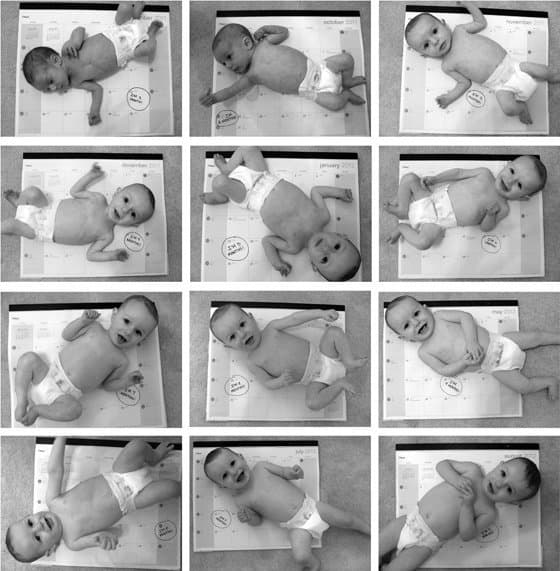 Baby's 1st Year: Creative Monthly Baby Photo Ideas 8 Daily Mom Parents Portal