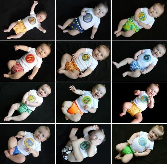 Baby's 1st Year: Creative Monthly Baby Photo Ideas 14 Daily Mom Parents Portal
