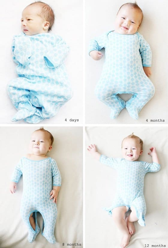 Babys 1st Year Creative Monthly Baby Photo Ideas Daily Mom
