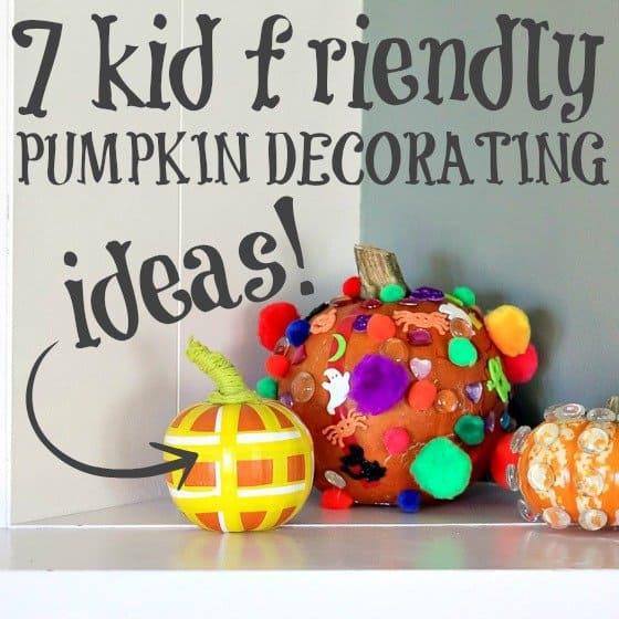7 Kid-Friendly Pumpkin Decorating Ideas 1 Daily Mom Parents Portal