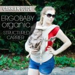 Carrier Guide Ergobaby Organic Structured Carrier 1