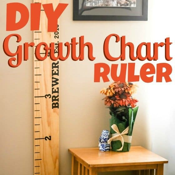 DIY Growth Chart Ruler 1 Daily Mom Parents Portal
