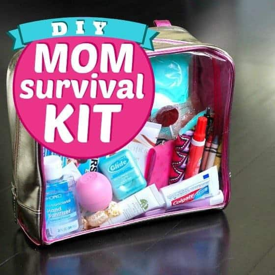 DIY Mom Survival Kit 1 Daily Mom Parents Portal